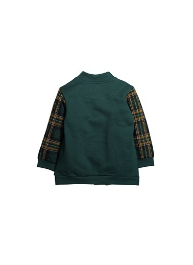 Zeyland Ekose Parçalı Çıtçıtlı Sweatshirt (12ay-4yaş) Ekose Parçalı Çıtçıtlı Sweatshirt (12ay-4yaş) Haki